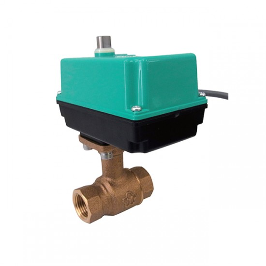 Yamato E-BLES Cast Bronze Ball Valve Full Bore with Electric Actuator