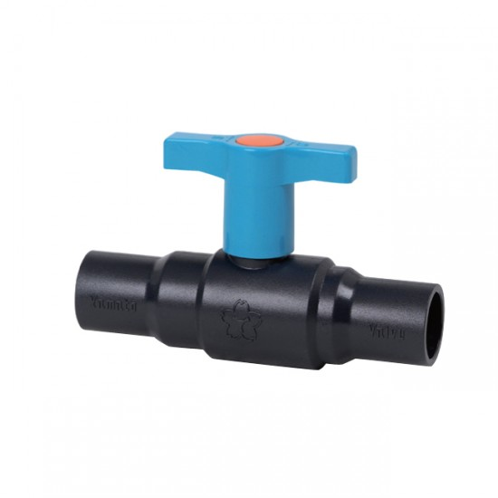 Yamato VHBEPN 10K Bronze Wing Handle Ball Valve with PVC Fitting Full Bore